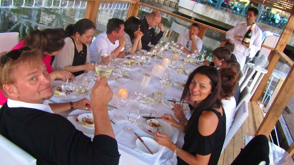 Floating a New Sustainable Dining Experience